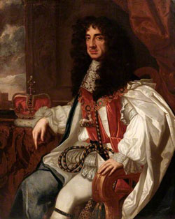 King Charles II, by John Michael Wright or studio/1617-1694