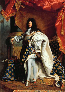 Louis XIV of by FranceHyacinthe Rigaud 1701