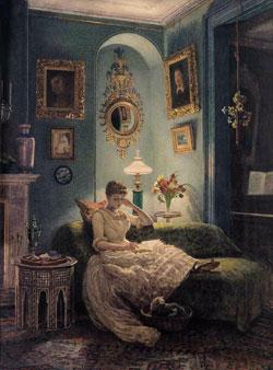 An evening at home by Sir Edward Poynter 1888