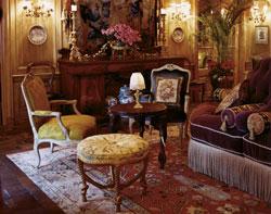 Victorian sittingroom interior