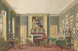An Interior by Mary Ellen Best /c.1837–1840