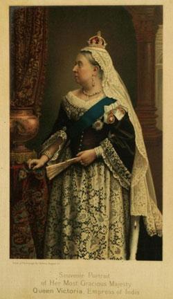 Indian Empress Victoria 1877