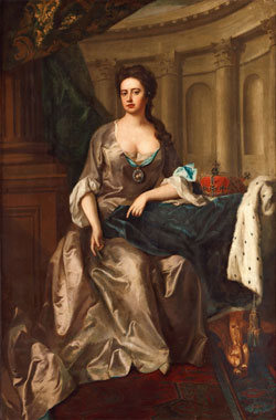 Queen Anne Portrait by Michael Dahl, 1705