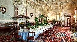The durbar room in Osborne House