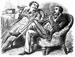 Victorian Smoking Gentleman