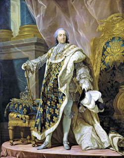 Louis XV France by Louis Michel van Loo