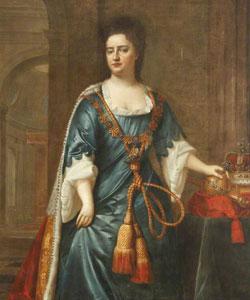 Queen Anne by Edmund Lilly c.1705