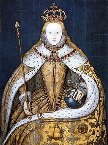 Elizabeth I in National Portrait Gallery