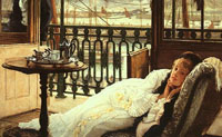 A Passing Storm(detail) by James Tissot  1876