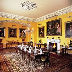 Newby Hall, Dining room in Yorkshire