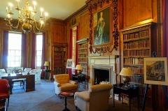 Library, Cassiobury House. Image:Wikipedia
