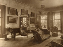 Drawing Room from door way of Sewerby Hall in Halifax
