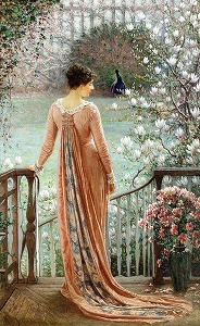 A Spring Fantasy by William John Hennessy  (1839-1917,Irish)