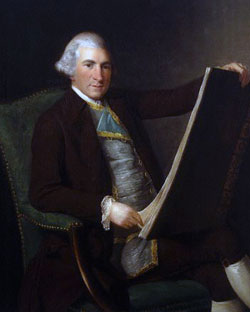 Robert Adam by George Willison c.1770-1775